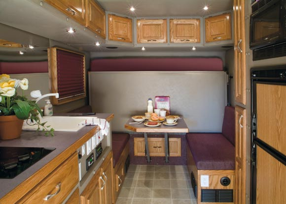 Home page ari legacy sleepers for Custom semi truck sleeper interior