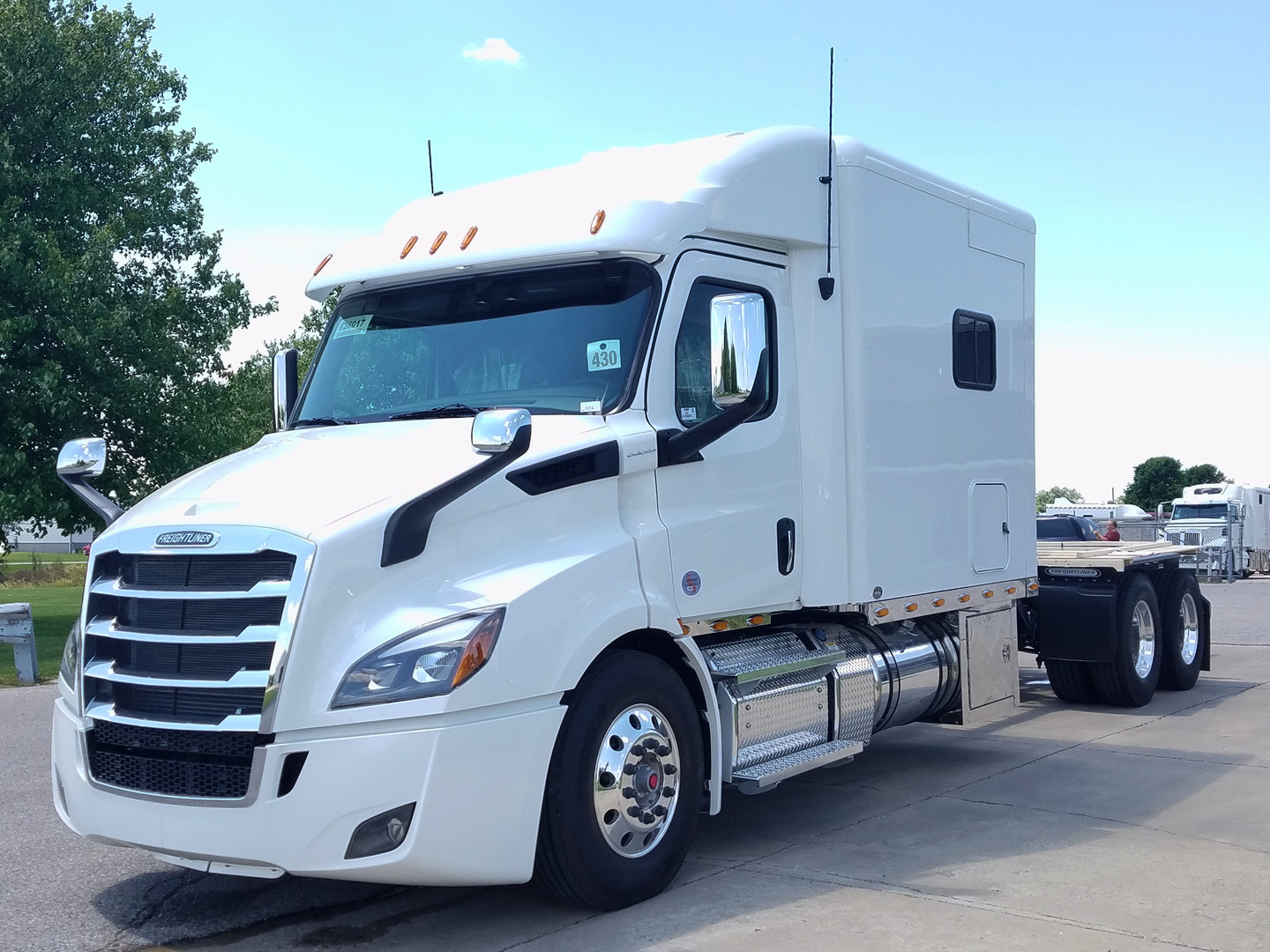 2020 Freightliner Cascadia with ARI 103 Inch Legacy Custom Sleeper